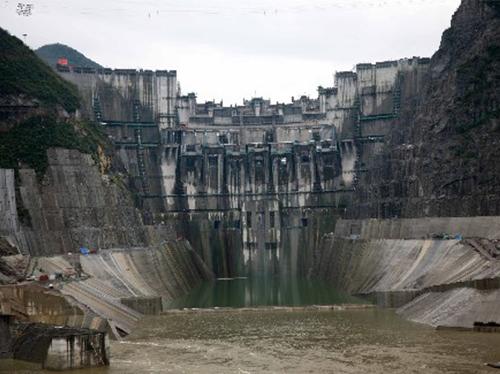 贵州省构皮滩水电站