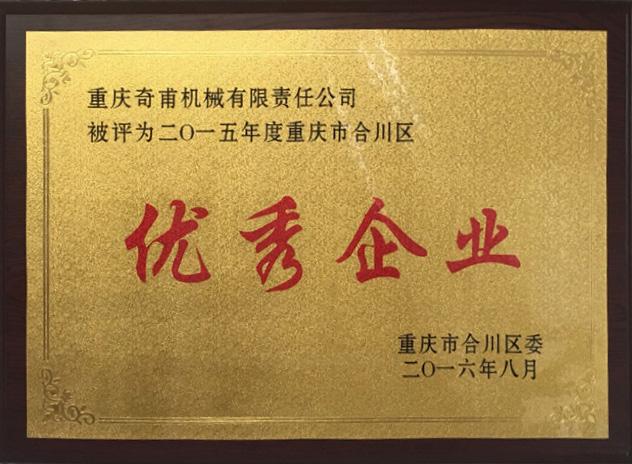 2015年度重庆市合川区优秀企业